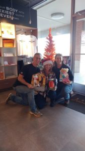 Thank you, Orange Theory, for hosting the Angel Trees!