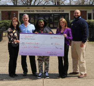 Demetria Dowdy GED Check Presentation March 23 2018