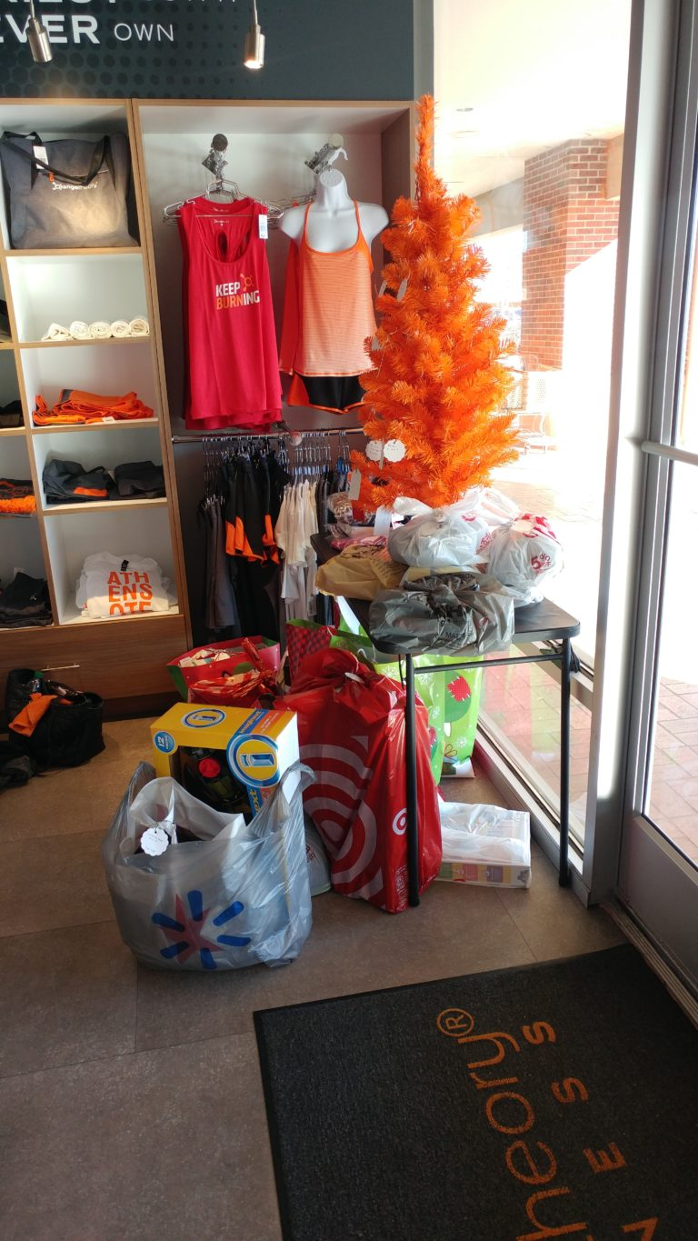 Orange Theory Angel Tree December 2018
